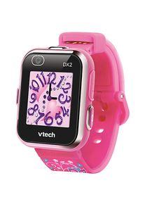 Vtech Kidizoom Smart Watch DX2 pink version with flowers Mädchen Kinder Smartwatches