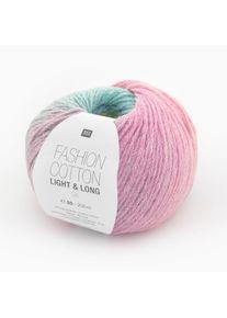 Fashion Cotton Light & Long dk Rico Design, Multicolor, aus Baumwolle