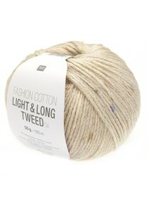 Fashion Cotton Light & Long Tweed DK Rico Design, Natur, aus Baumwolle
