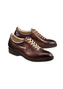 Cordwainer Edelsneaker, 41 - Cognac, aus Leder