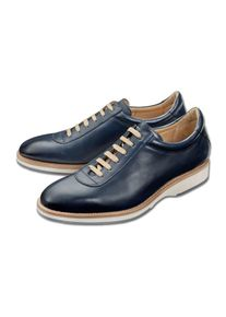 Cordwainer Edelsneaker, 41 - Blau, aus Leder