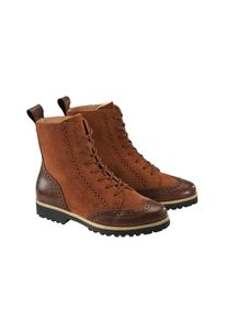 Werner Budapester-Boots, 36 - Cognac