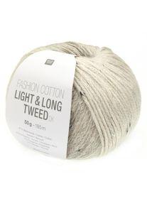 Fashion Cotton Light & Long Tweed DK Rico Design, Grau, aus Baumwolle