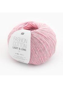 Fashion Cotton Light & Long dk Rico Design, Rosa-Mix, aus Baumwolle