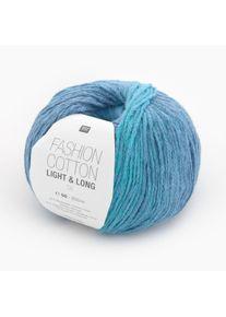Fashion Cotton Light & Long dk Rico Design, Aqua, aus Baumwolle