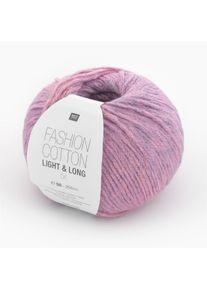 Fashion Cotton Light & Long dk Rico Design, Lila-Mix, aus Baumwolle