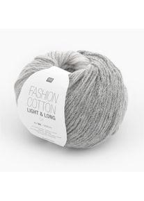 Fashion Cotton Light & Long dk Rico Design, Grau, aus Baumwolle