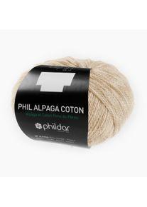 Phil Alpaga Coton phildar, Naturel, aus Alpaka